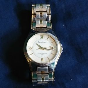 Silver/Gold ARMITRON Wrist Watch